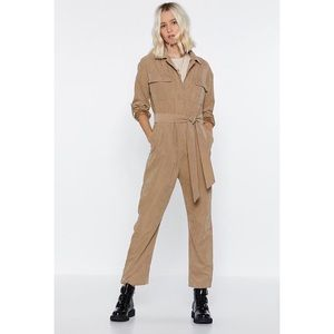 Nasty Gal Utility Jumpsuit NWT